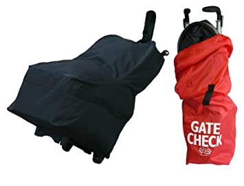 Amazon.com: JL Childress Wheelie Car Seat Travel Bag with Gate Check