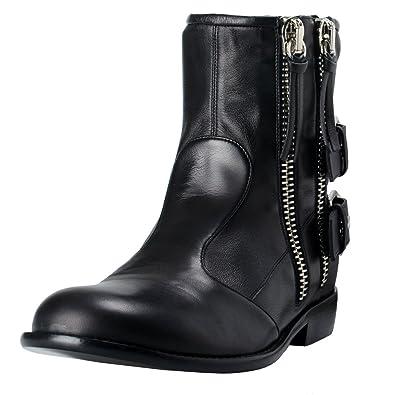 1b3b85c56ac04 Giuseppe Zanotti Design Men's Leather Boots Shoes US 11 IT 44; Black