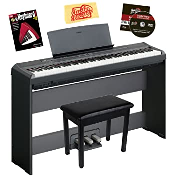 amazon com yamaha p 105 digital piano bundle with gearlux furniture rh amazon com Yamaha P95 yamaha p 105 service manual