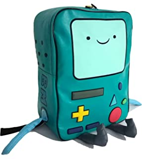 Adventure Time with Finn and Jake boys and girls Cartoon Network school PU  BMO backpack 8789f3f050
