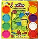 Play-Doh Numbers Letters N Fun Art Multi Kids Toddler Games Play Set Playdough