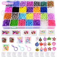 Mudo Nest 10,860+ Rainbow Loom Bands Refill Set