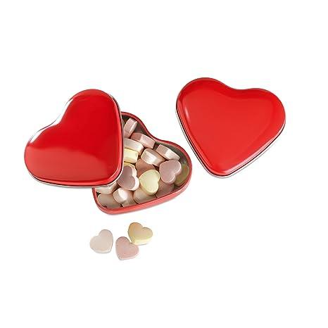 Herzdose rot