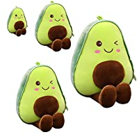 Lansel Avocado Plush Toys,12inch,18inch,23.6inch,33.5inch Soft Novelty Food Shaped Throw Pillow,Fruit Series Cute Stuffed Soft Plush Toy for Girl Boy Friend (Size : 17.7'')