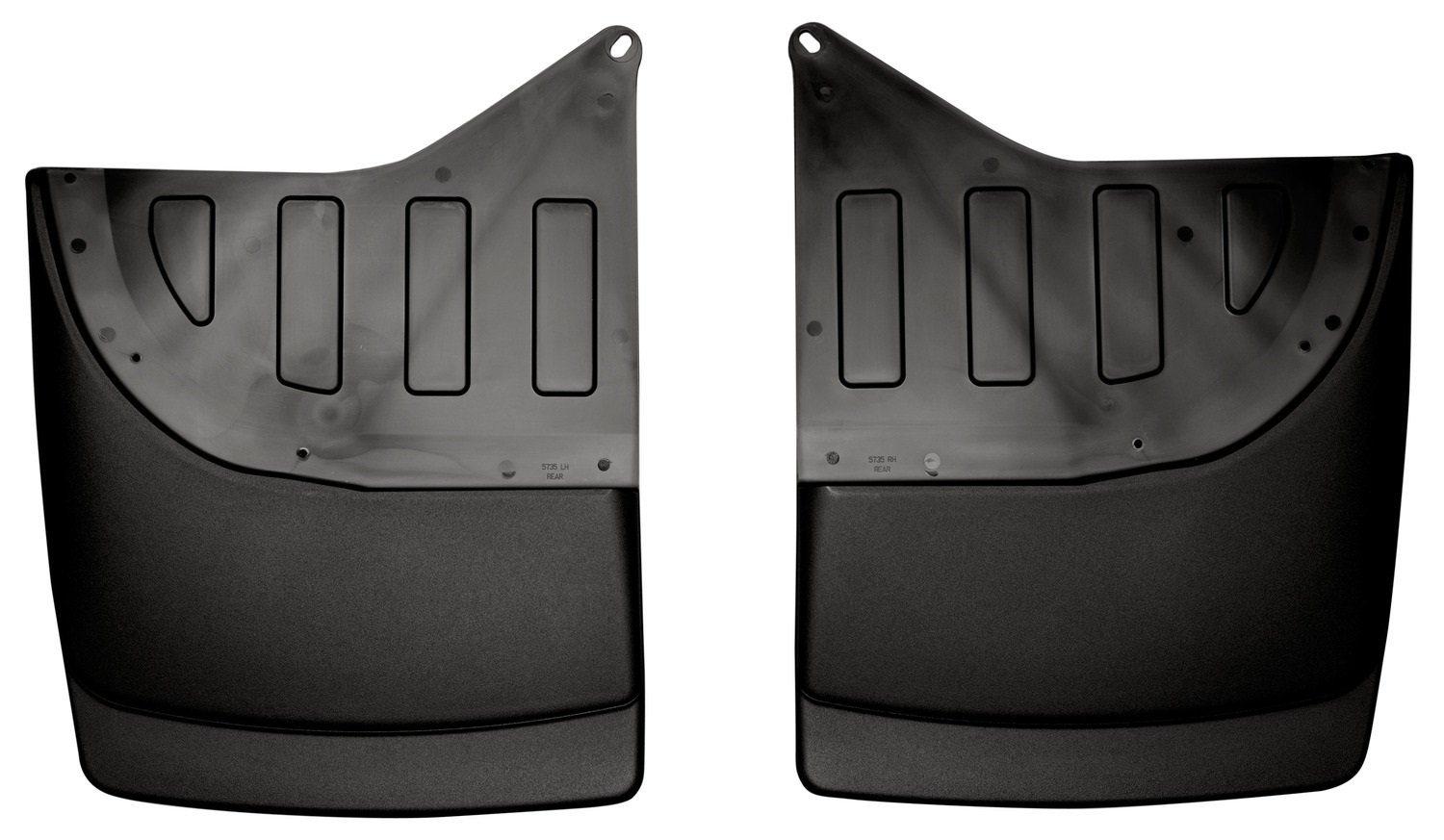 Husky Liners 57351 Dually Rear Mud Guards Fits 01-07 Silverado/Sierra 3500 DUAL WHEELS Winfield Consumer Products