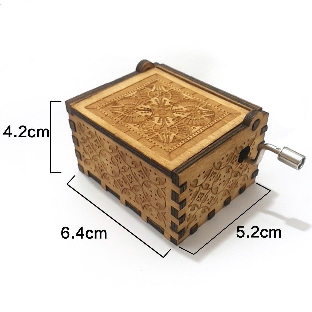English Monbedos Wooden Cartoon Pattern Boy Girl Teeth Color Box Organizer Teeth Box Lanugo Storage Box
