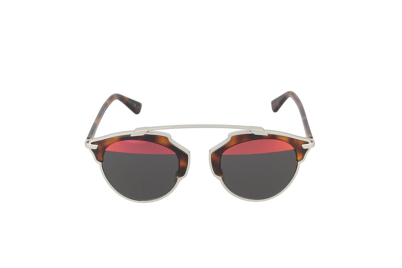 8149246ed32 Dior Sunglasses Dior So Real Sunglasses AOOTT Silver and Havana 48mm   Amazon.com.au  Fashion