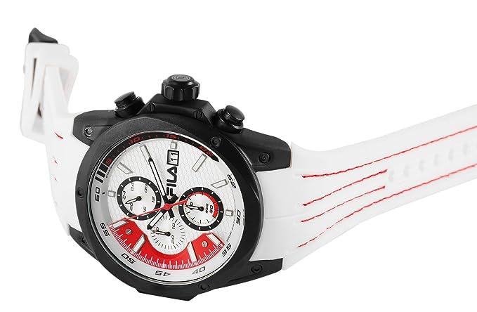 Fila 38 Uhr 823 001 Quarz Silikon Herren Mit Analog Armband vOyN8nw0mP