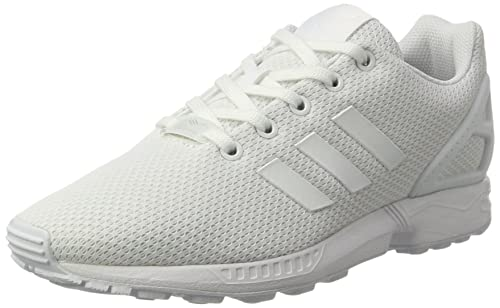 14a8b9bc ... france adidas zx flux unisex kids low top sneakers white ftwr white  62e5f 3bcf4