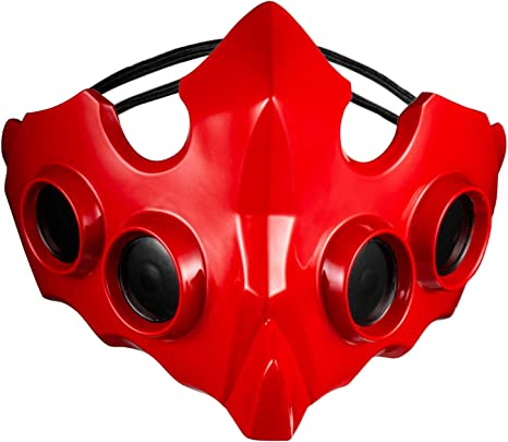 Anime Tokyo Ghoul:re Tatara Kogasa Mask Cosplay Prop Red Handmade Limited Gift