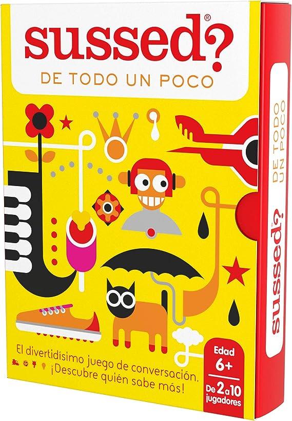 SUSSED DE TODO UN POCO (Divertidísimo y familiar juego de conversación de cartas) (Descubre quién conoce mejor a quién): Amazon.es: Juguetes y juegos