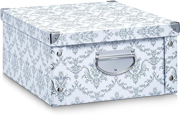 Zeller 17973 Caja de almacenaje con Ventana cartón 35 x 43 x 30 ...