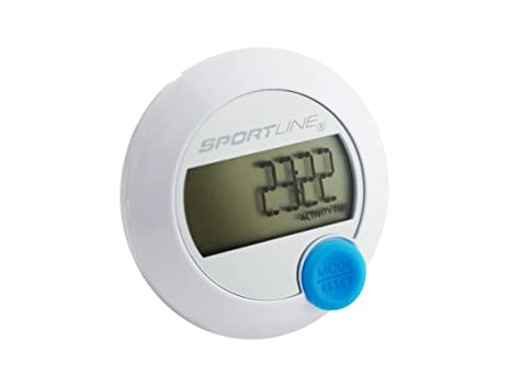 amazon com sportline 345 ds pedometer with single button operation rh amazon com Sportline 345 Manual Walking Advantage Sportline 345