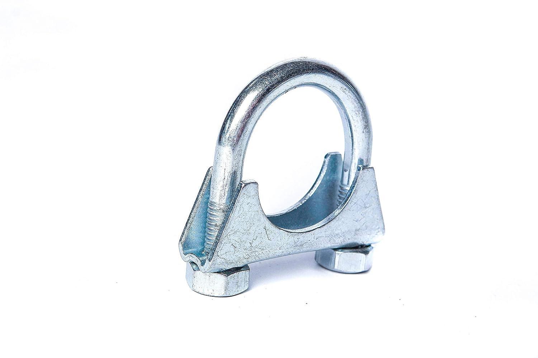 M10 B/ügelschelle Stahl verzinkt /Ø 36-200 mm Schelle Rohrschelle Auspuffschelle Klemme Verbinder Schlauch Durchmesser:/Ø 56 mm//Artikel 10658