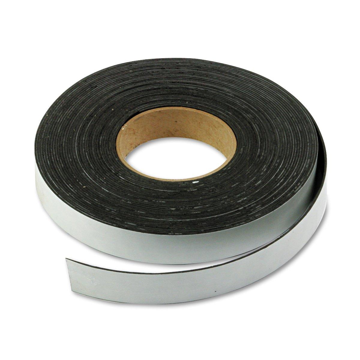 Magna Visual Magnetic Tape, 1-Inch X 50 Feet, Charcoal (MAVP240P)