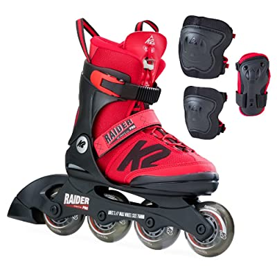 K2 Skate Raider Pro Pack, Red, 11-2 : Sports & Outdoors
