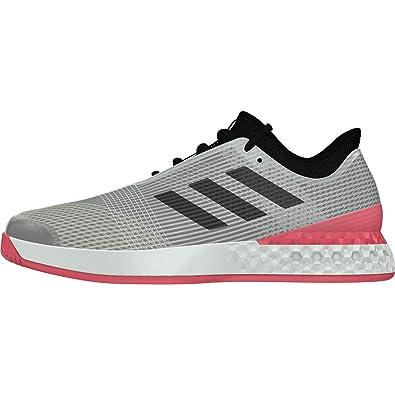 b3bf1369c57 adidas Men's's Adizero Ubersonic 3 M Tennis Shoes Silver (Plateado 000) ...
