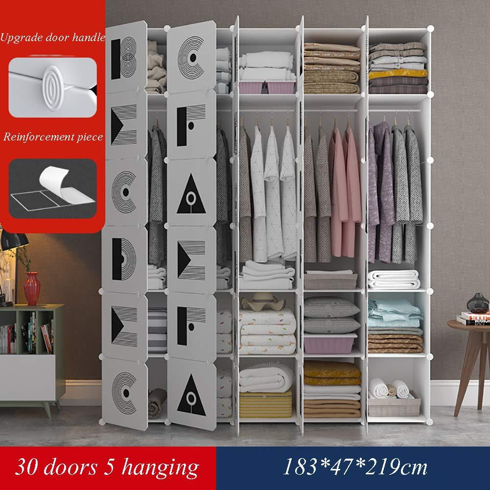 GJC DIY einfache kleiderschrank zauberstück kleiderschrank schuhschrank Mode einfachen schlafsaal verstärkung Montage kleiderschrank,30doors
