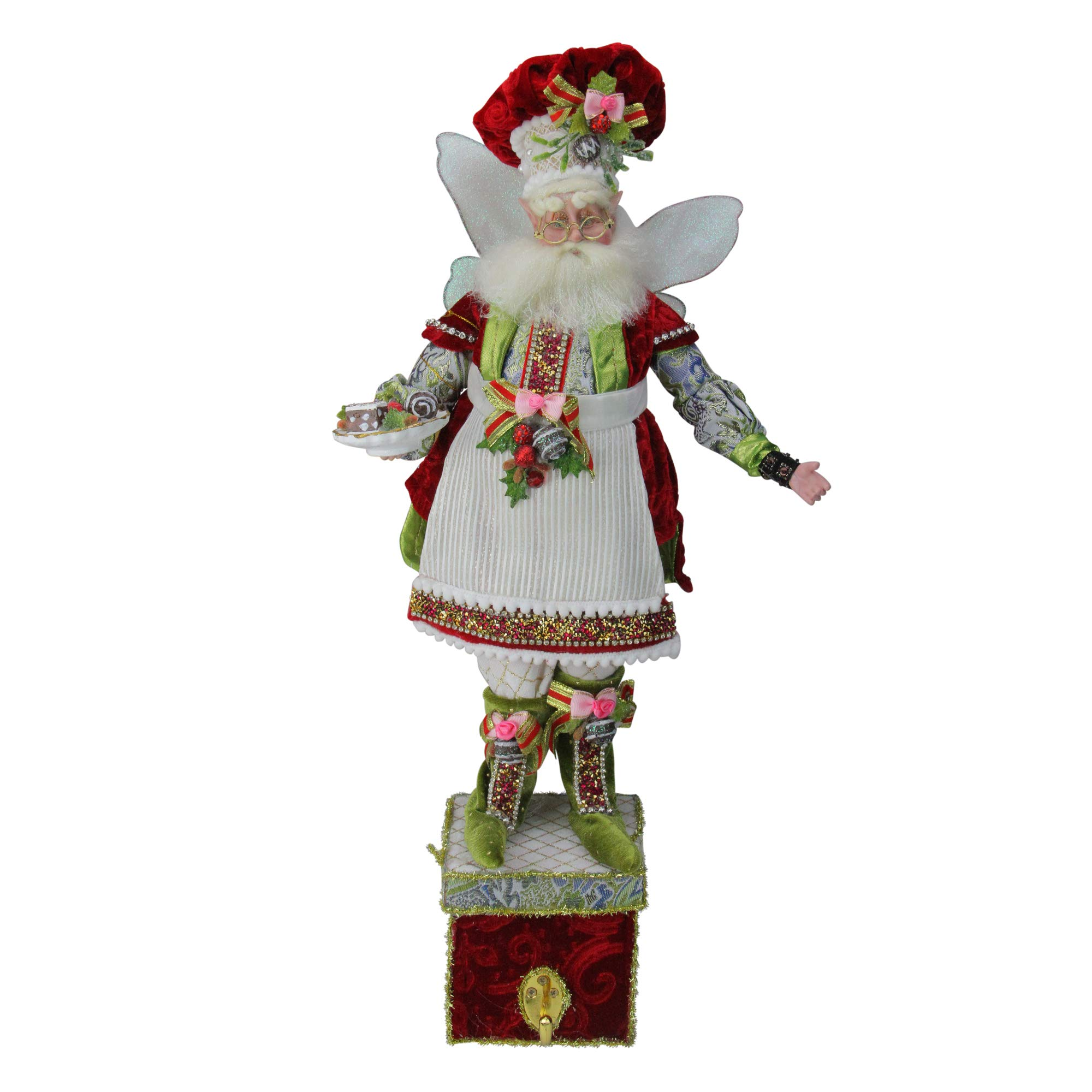 """Mark Roberts All The Trimmings Fairy Christmas Stocking Holder - 21"""" #51-85472"""