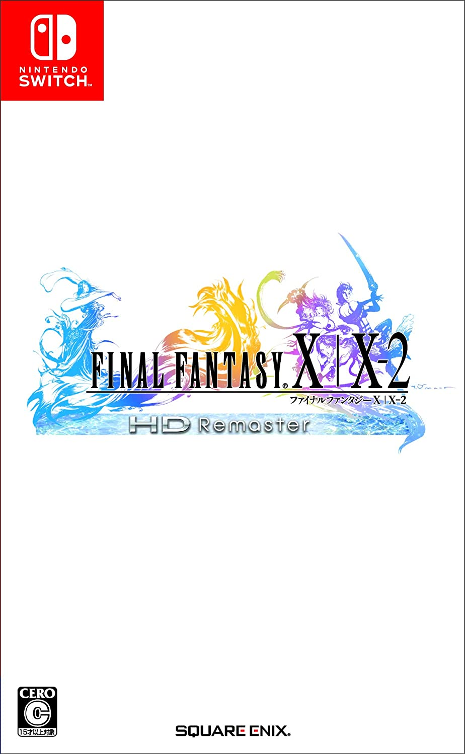 Square Enix Final Fantasy X / X-2 HD Remaster NINTENDO SWITCH REGION FREE JAPANESE VERSION