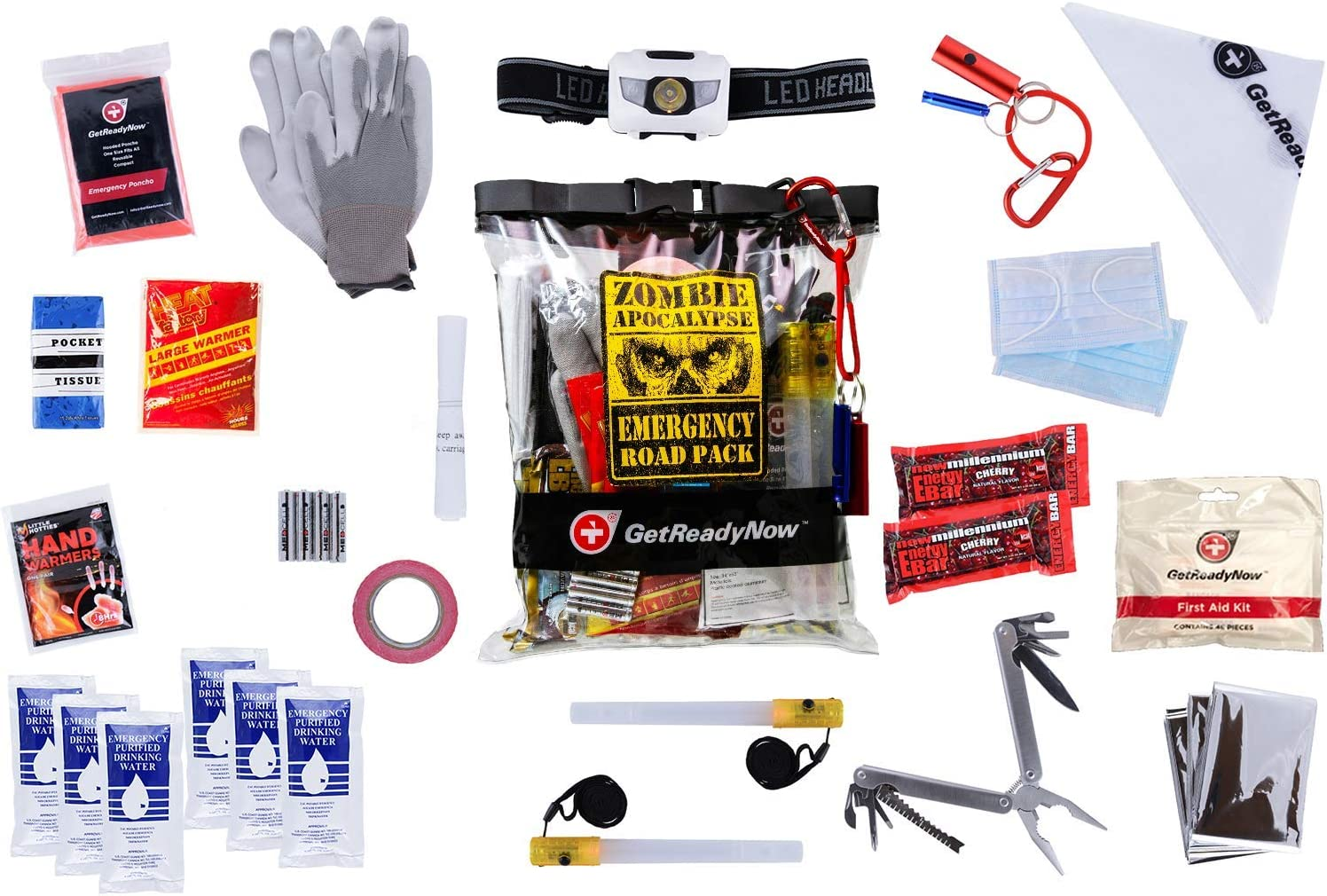 Best drink options to keep in a car emergency kit