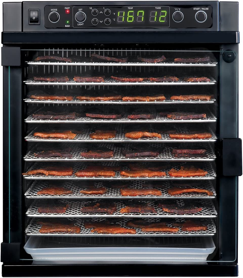 Tribest-SDE-S6780-B-Sedona-Express-Digital-Food-Dehydrator-with-Stainless-steel-Trays