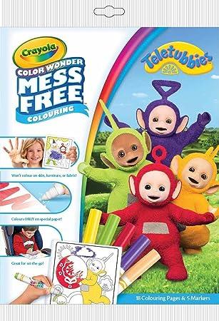 Crayola 75-2417.0054 - Teletubbies Toy - Colour Wonder Mess Free ...