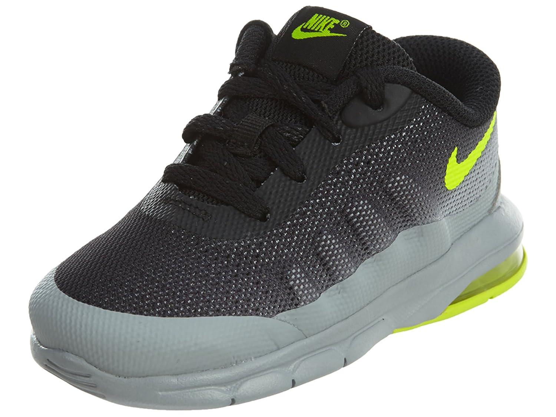 newest 66e3d 0a9fc Nike Air Max Invigor (TD) - Wolf Grey Volt Black, Multicoloured, 8C   Amazon.co.uk  Sports   Outdoors