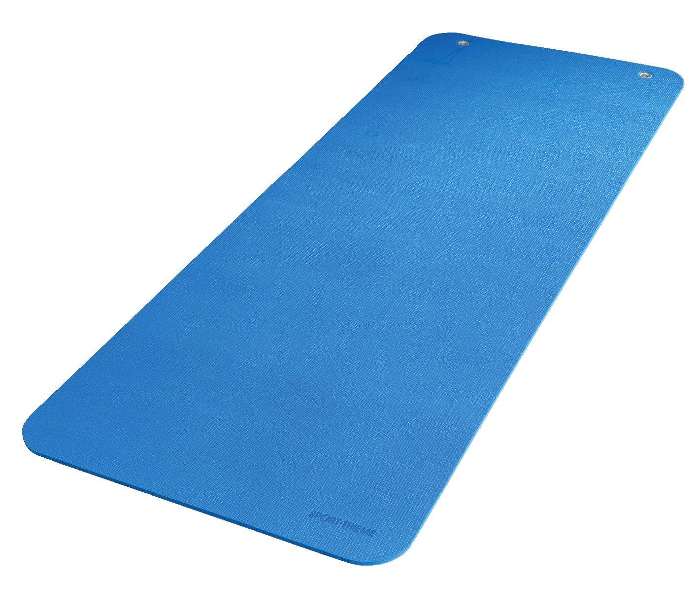 Sport-Thieme® Gymnastikmatte Fit&Fun Blau, Ca. 180x60x1,0 cm