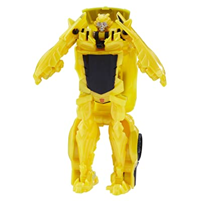 Transformers: The Last Knight 1-Step Turbo Changer Bumblebee: Toys & Games