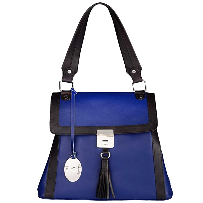 1ab8ca46cc9 Tommy   Kate Boutique Ladies Navy with Black Trims Milan Top Handle Tote  Bag  Amazon.co.uk  Clothing