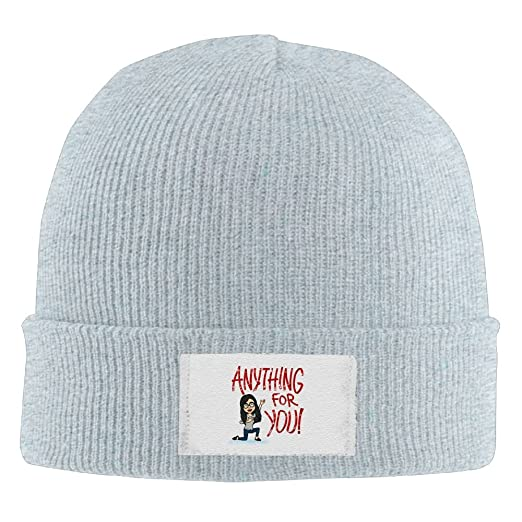 981711abfad Unisex Anything Luck For You Funny Winter Hats Cashmere Hat Smart Cap  Fashion For Outdoor   Home at Amazon Men s Clothing store