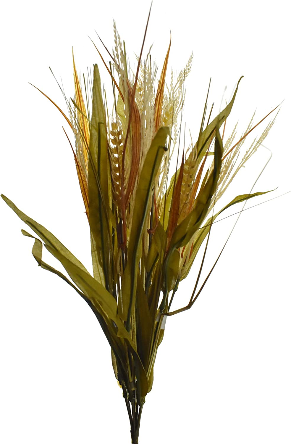 Homeford Artificial Rice, Wheat, and Grass Spray, 21-Inch
