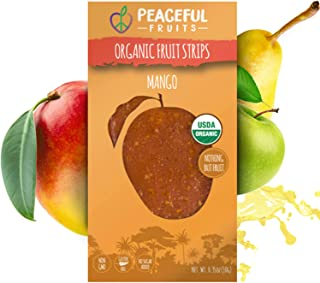 product image for Peaceful Fruits 100% Fruit Strips (Mango, 20 count)