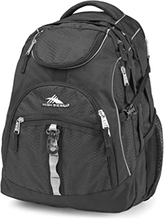 Fashion Backpacks For Unisex By High Sierra, Black, H04Aa019