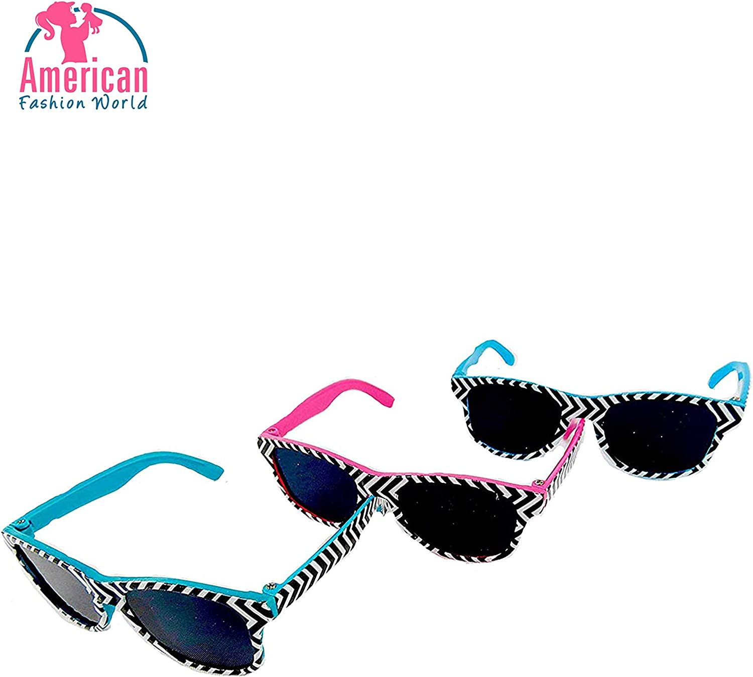 Doll Heart-shaped glasses Accessories For 18/'/' American Girl Our Generation Doll