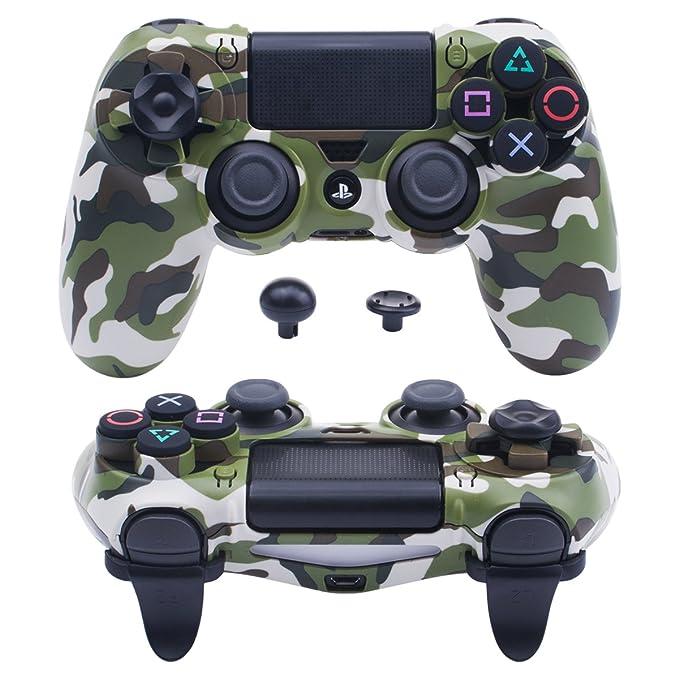 Pandaren® ULTRA ARMOR GEAR Funda de la caja FPS para Mando PS4 (camuflaje verde): Amazon.es: Videojuegos