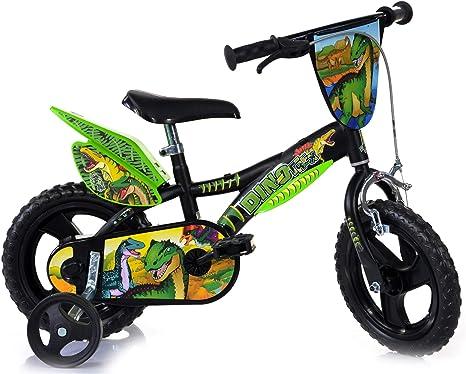 Dinobikes Kinderfahrrad Bicicleta, Niños, Verde, 12 Pulgadas: Amazon.es: Deportes y aire libre