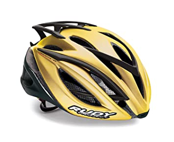 Casco bicicleta Rudy Project Racemaster gold-shiny