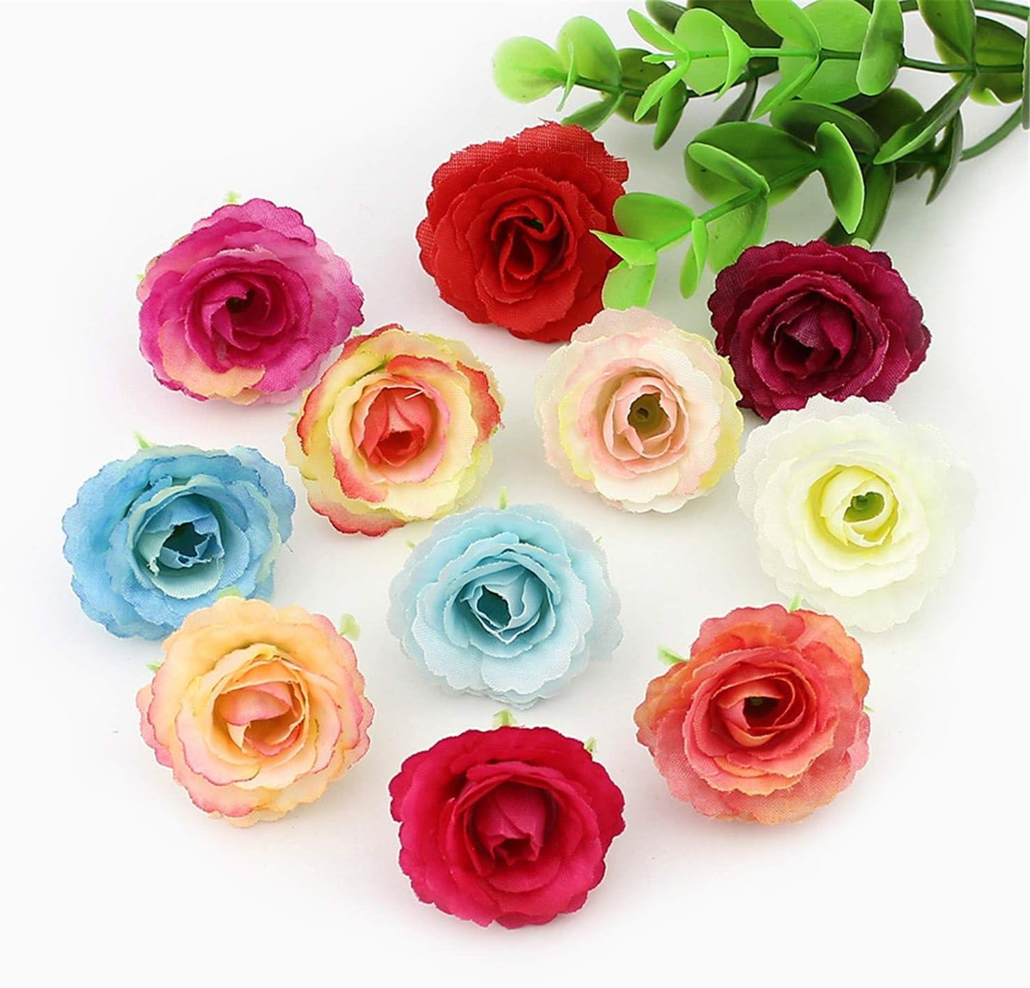 - Amazon.com: Evan Fordd 3cm Artificial Rose Flower Heads Silk