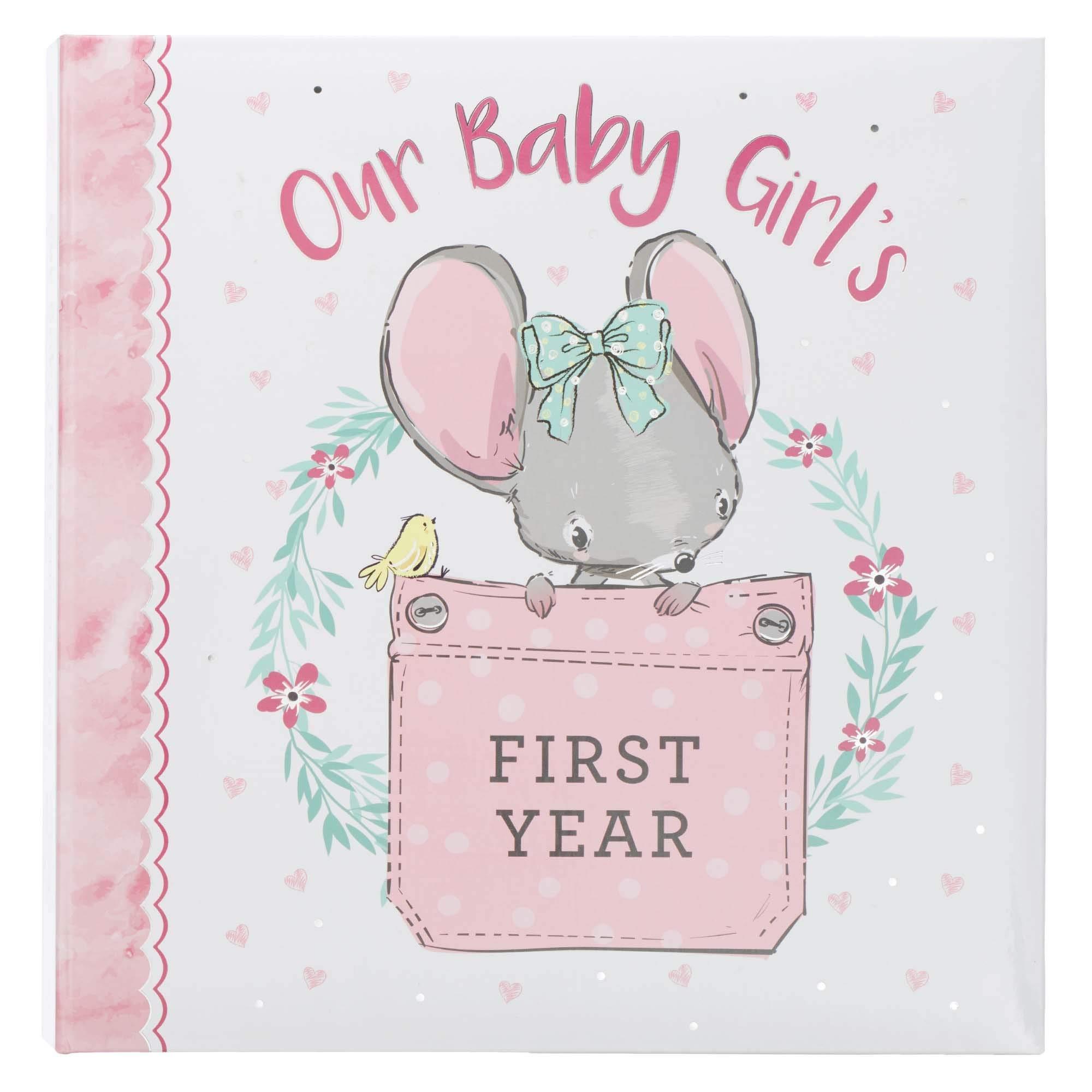 Baby Art Nursery Decor Baby Girl Script New Baby Art Print 1 New Baby Gift Mint Birth Record Poster - Rose Peach- Qty