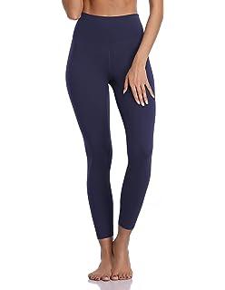 98455fa2ec Colorfulkoala Women's Buttery Soft High Waisted Yoga Pants 7/8 Length  Leggings