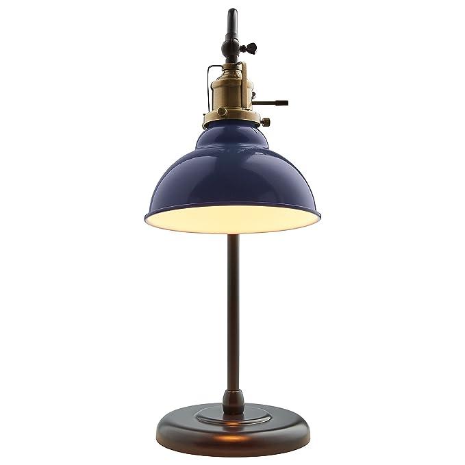 Amazon.com: Stone & Beam Walters - Lámpara de mesa con ...