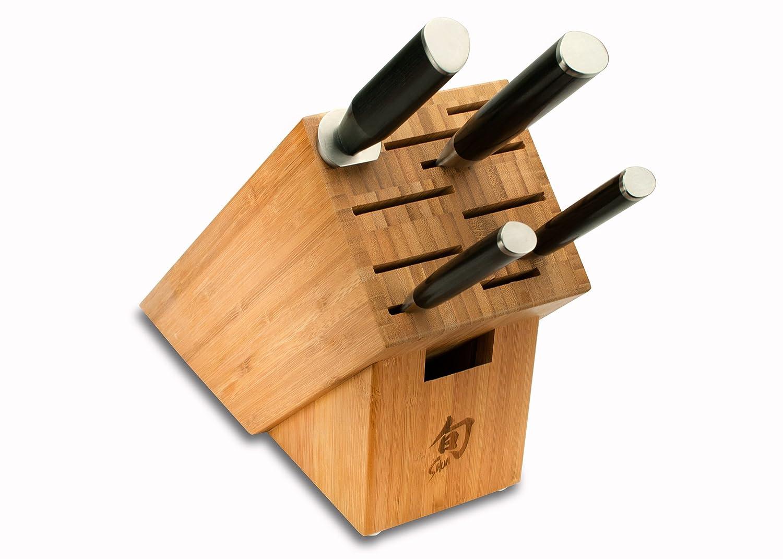 Shun DMS0510 5-Piece Classic Knife Block Set