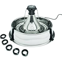 PetSafe Drinkwell Stainless Steel Dog and Cat Water Fountain, 3.8 litres