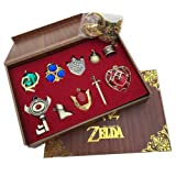 Amazon Price History for:The Legend of Zelda Keychain Necklace Pendant Key Set Collection Gift Box