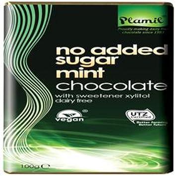 Plamil - No Added Sugar Mint Chocolate - 100g