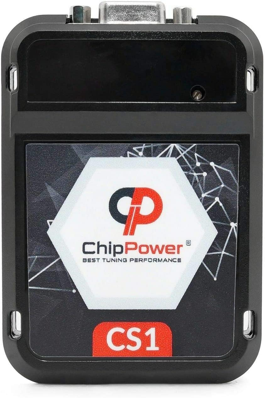 Chiptuning CS1 f/ür Cinqucento 1100 ie 40kW 54PS 1994-1998 Power Chip Box Benzin