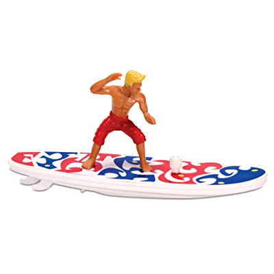 Tobar Wind-Up Surfer Figure: Toys & Games