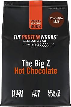 Chocolate Caliente Proteico The Big Z | Bajo en Grasas ...